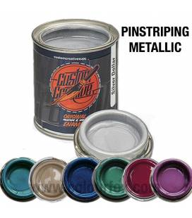 Pinstriping Enamel Metallic Colours 125ml - CUSTOM CREATIVE