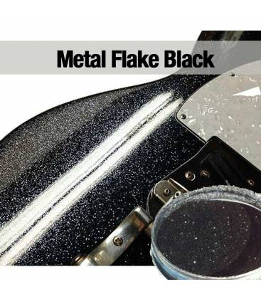 Metal Flakes Black FOX