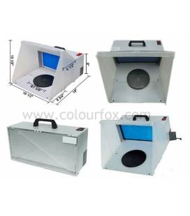Airbrush Paint Booth with Extractor