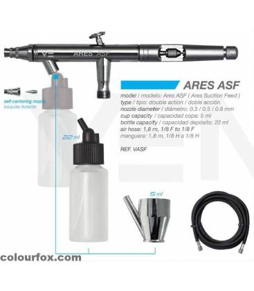 Airbrush Kit ARES ASF - Suction-Feed