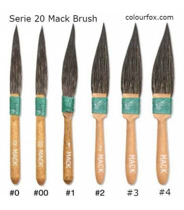 Pinstriping/touch-up Brushes MACK - Serie 20