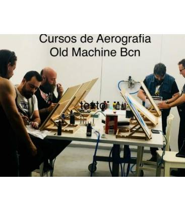 Airbrush Course Barcelona