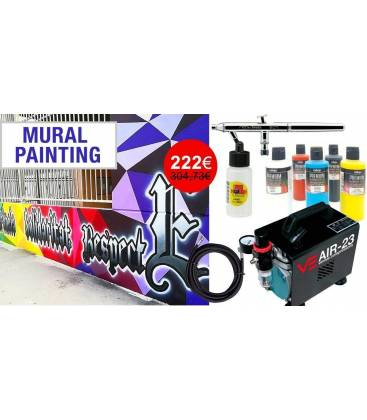 Airbrushing Set for Mural Painting