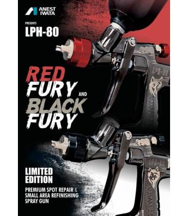 LPH-80 Iwata Black / Red Fury Special Edition