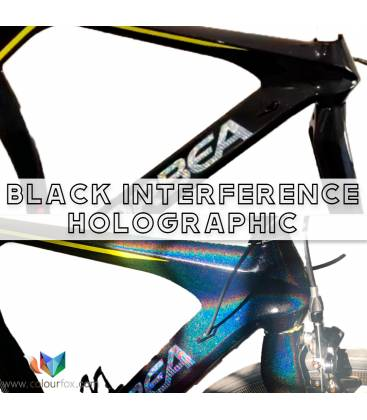 black-interference-holographic-custom-paint