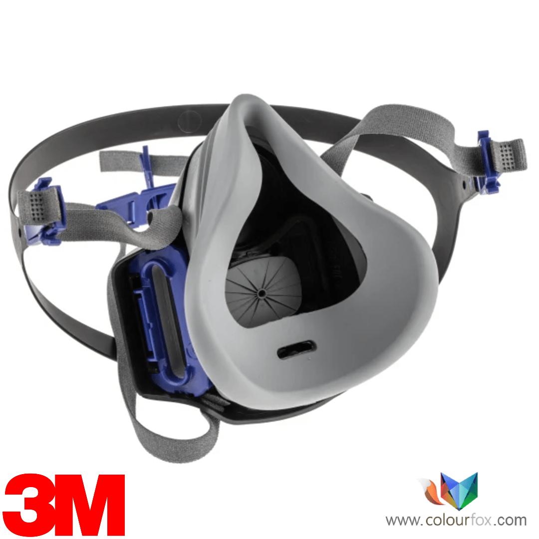 Parte trasera de silicona mascara media 3M Secure click