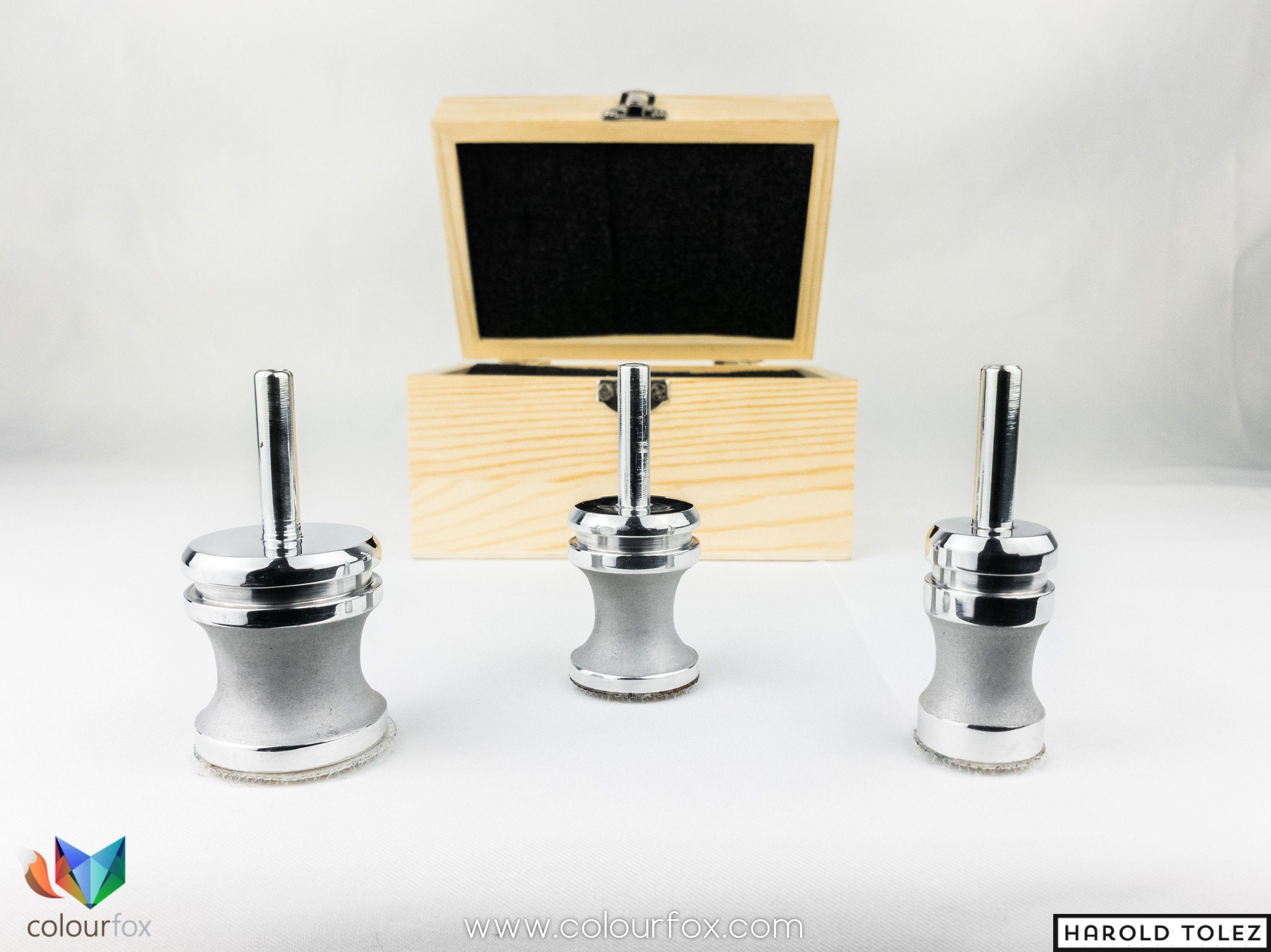 Leaf Turning Set Flash Tool de Custom Creative en caja especial de madera con velcro en Colourfox Barcelona, España
