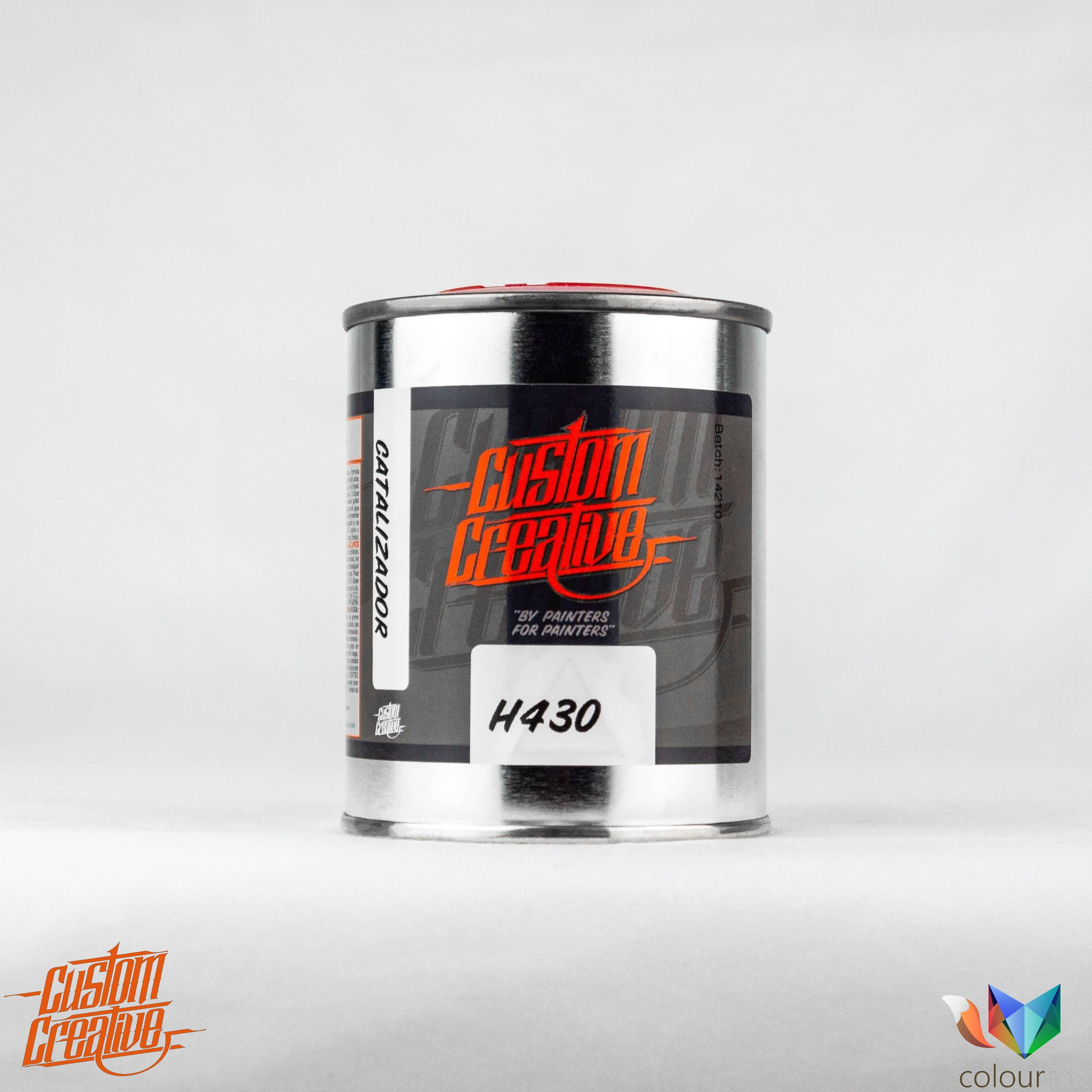 Catalizador H430 para aparejo metalizado de Custom Creative Metallic Sealer en Colourfox