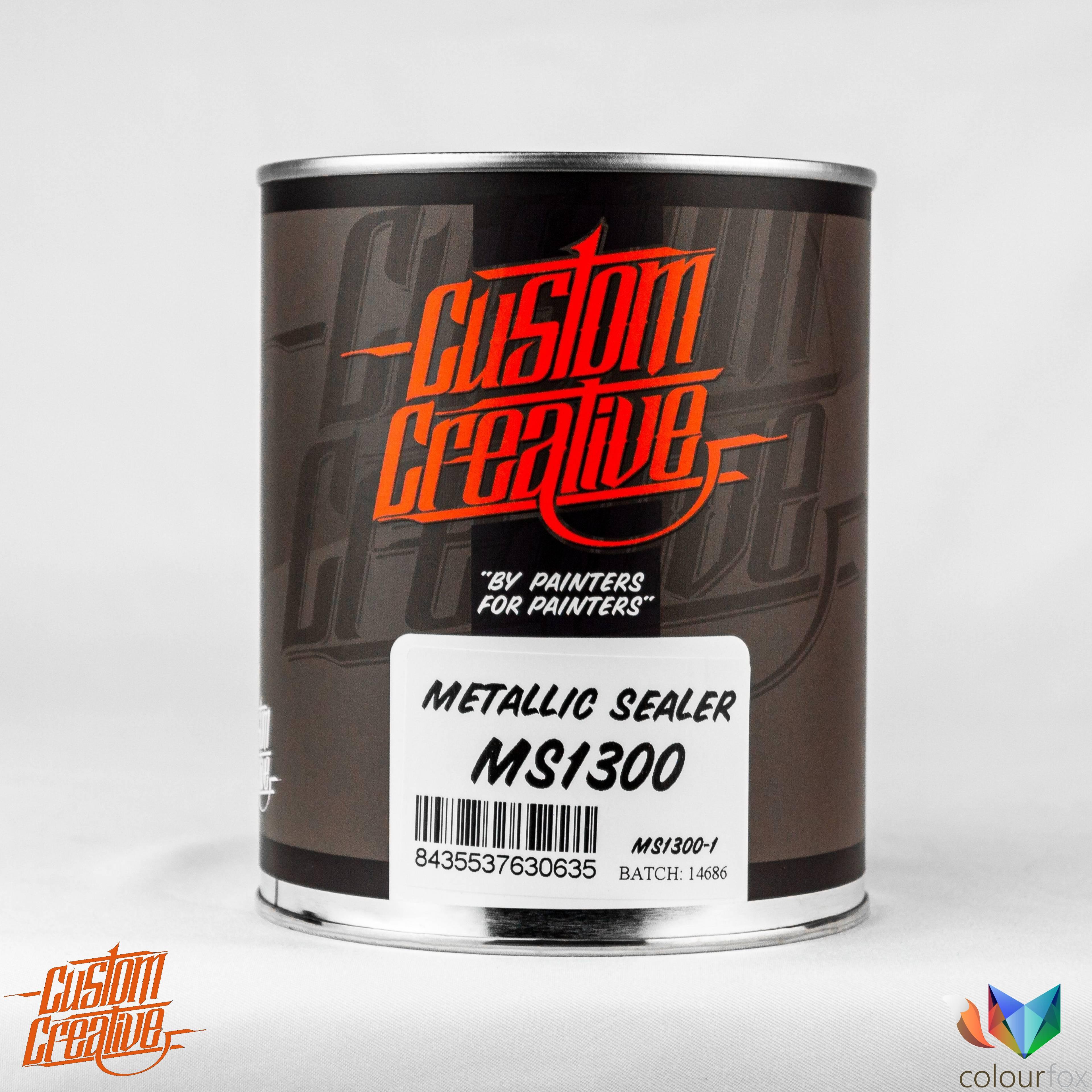 Aparejo metalizado de Custom Creative Metallic Sealer en Colourfox