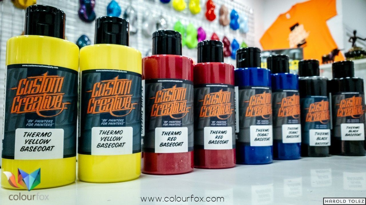 Pintura Termo crómica Custom Creative - Colourfox