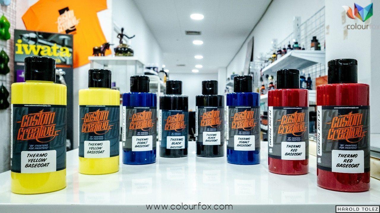 Botes Pintura Termo crómica Custom Creative en Colourfox
