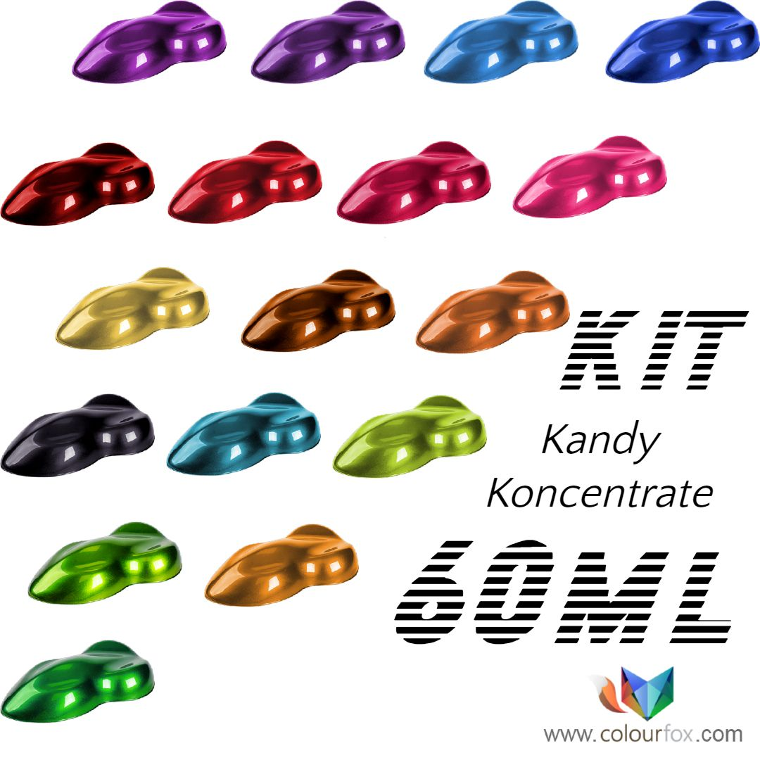 Kit Kandy Koncentrado KK Fox Line de Colourfox Paints