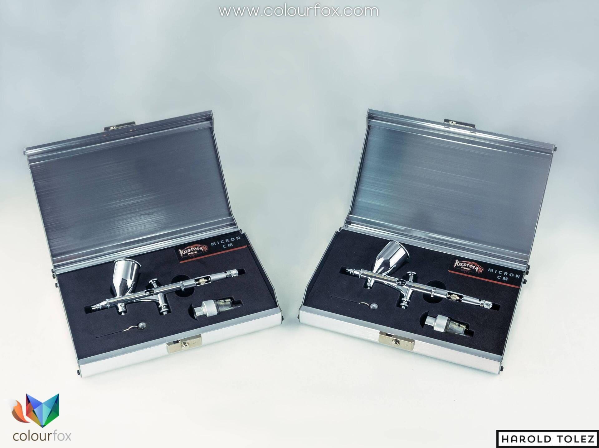 aerografo-anest-Iwata-kustom-micron-cm-paquete-case