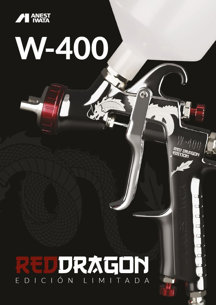 Poster Anest Iwata W 400 Bellaria Red Dragon Edicion Limitada