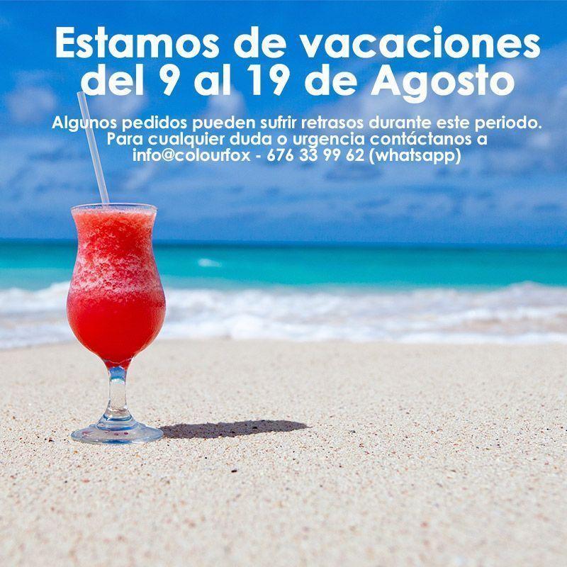 Colourfox vacaciones Agosto 2018