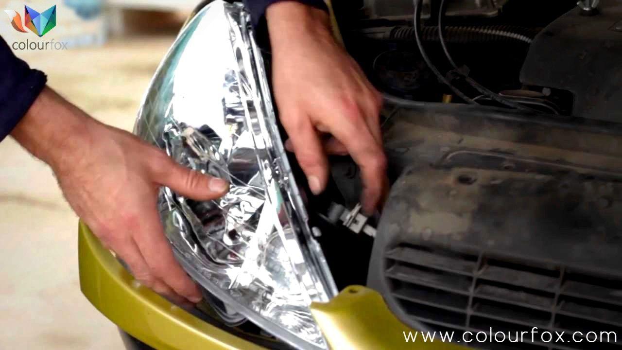 Óptica de faro de coche retoque de cromo interior con spray Go Chrome - Colourfox