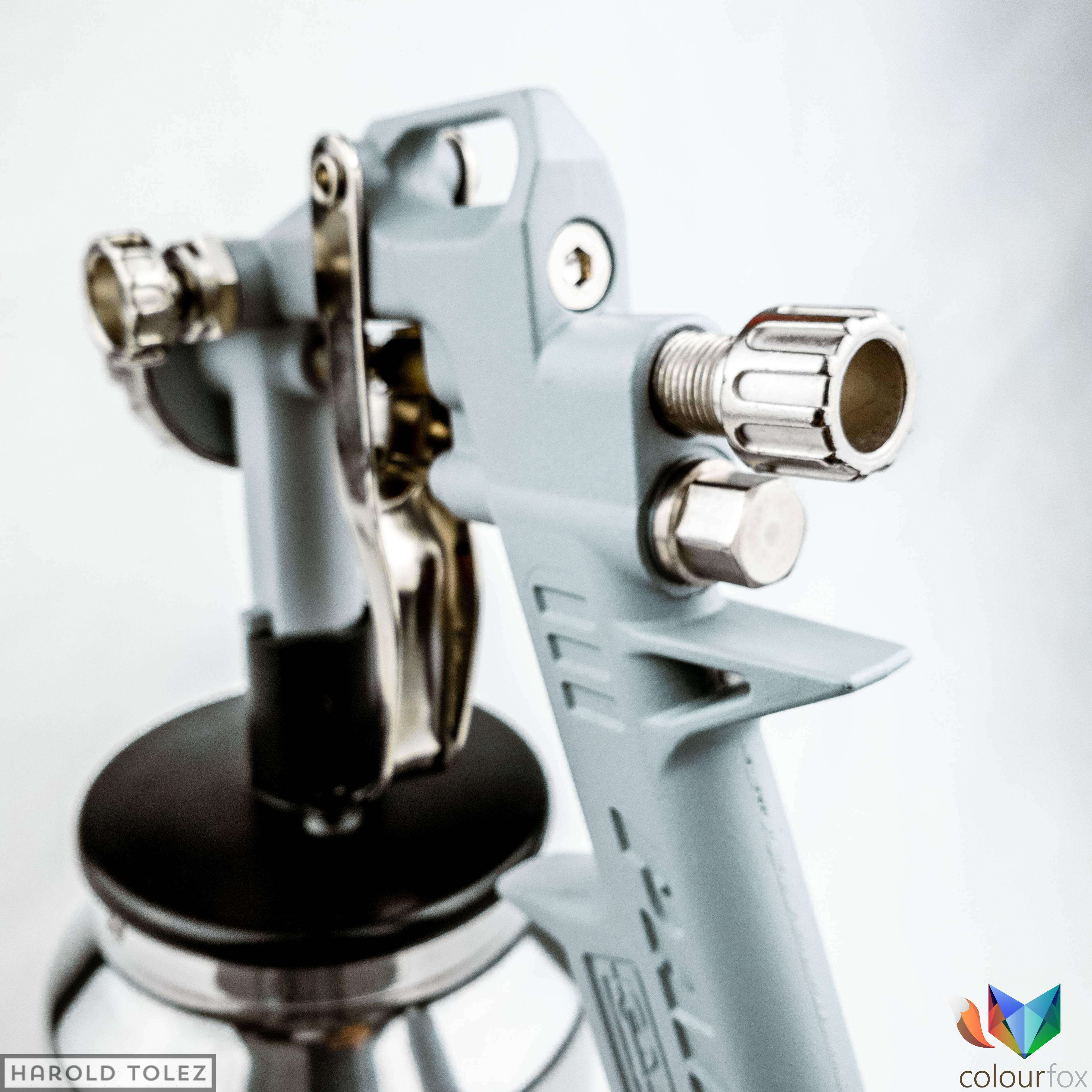 Pistola de succión para pintura acrilica