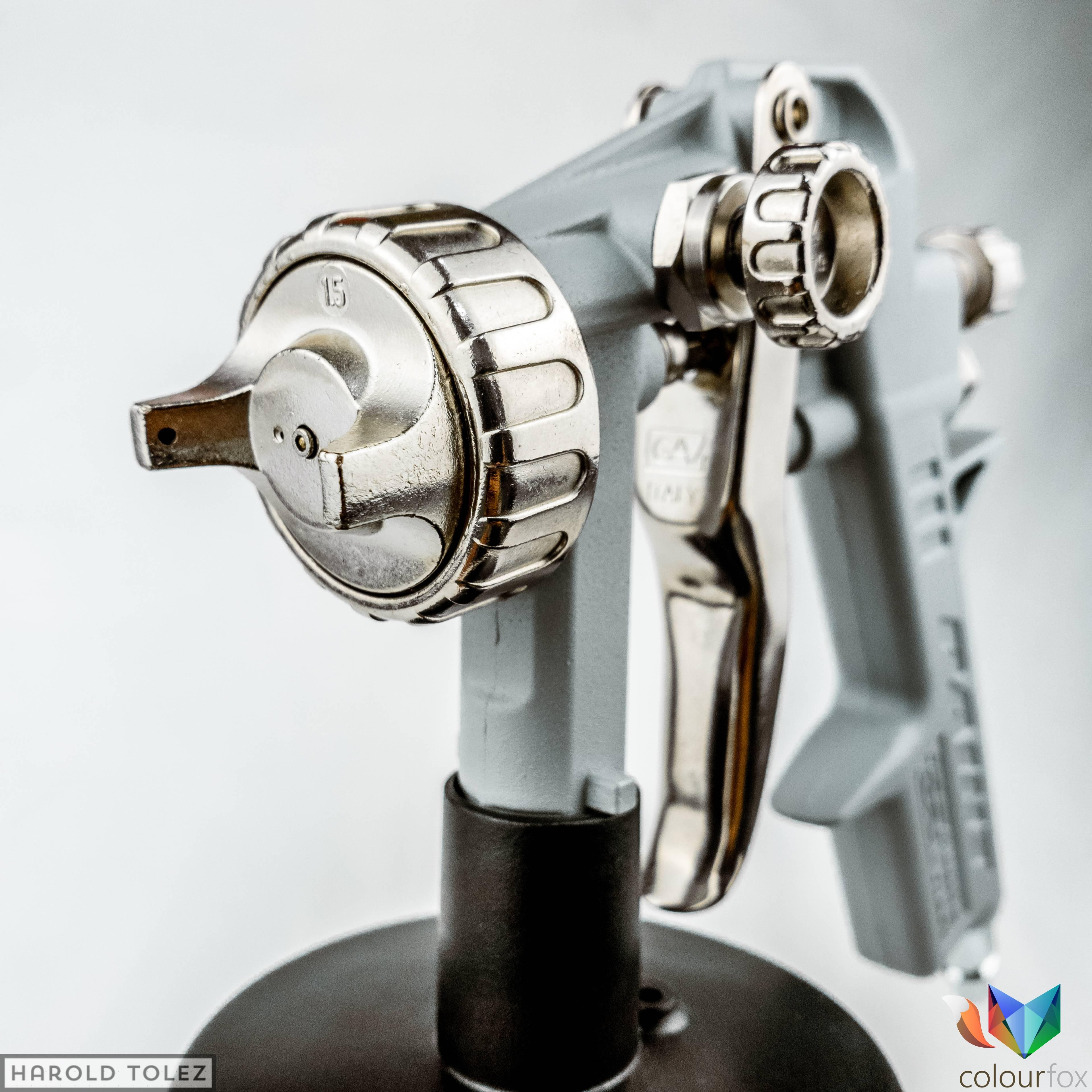 Pistola industrial de pintura para automocion