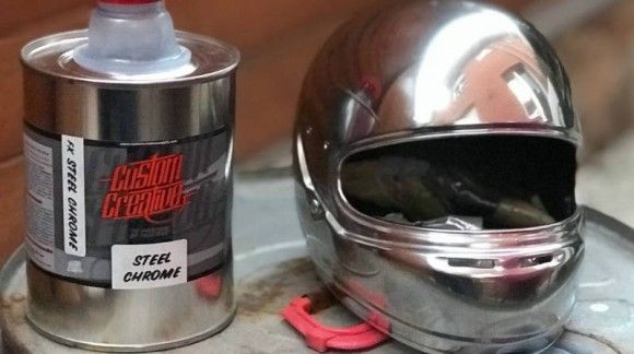 """Comparation Pure Chrome Systems and """"Metalchrome"""" Chrome Paint"""